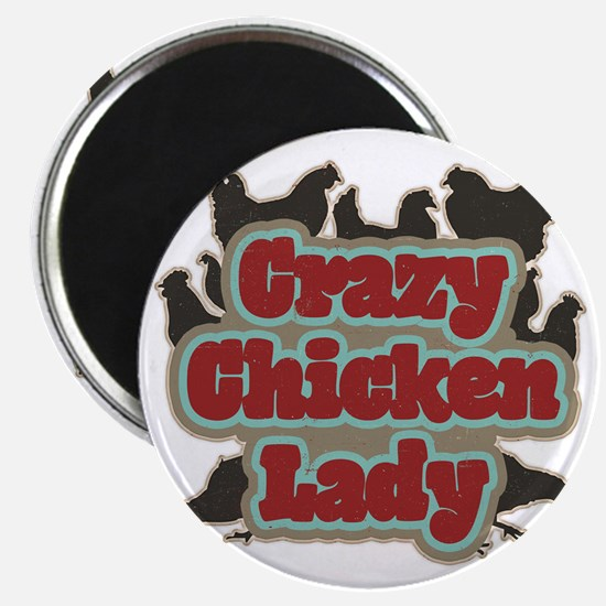 crazychickenladyshirt2 Magnet