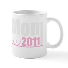mom mom est 2011 dark Mug