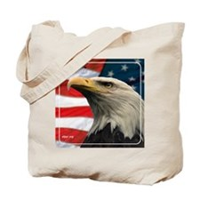 Eagle Design 2 Tile Coaster Tote Bag