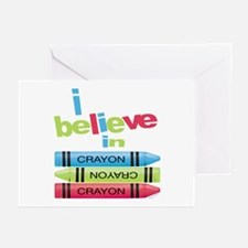 I believe in colors! Greeting Cards (Pk of 10)