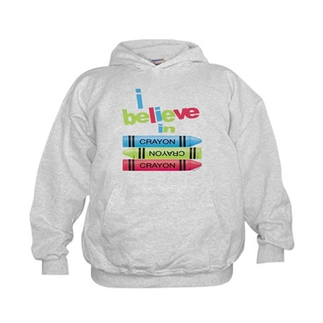 I believe in colors! Kids Hoodie
