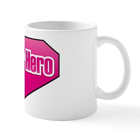 Super Hero in PINK Mug