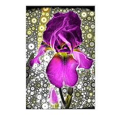 Grape Iris Postcards (Package of 8)
