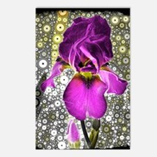 Grape Iris Postcards (Package of 8)