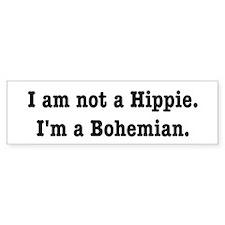 Bohemian Bumper Car Sticker