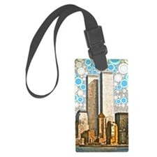 Twin Towers 1995 Luggage Tag
