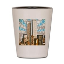 Twin Towers 1995 Shot Glass