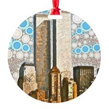 Twin Towers 1995 Ornament