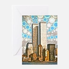 Twin Towers 1995 Greeting Card