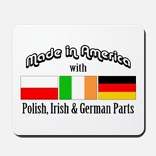 Polish-Irish-German Mousepad