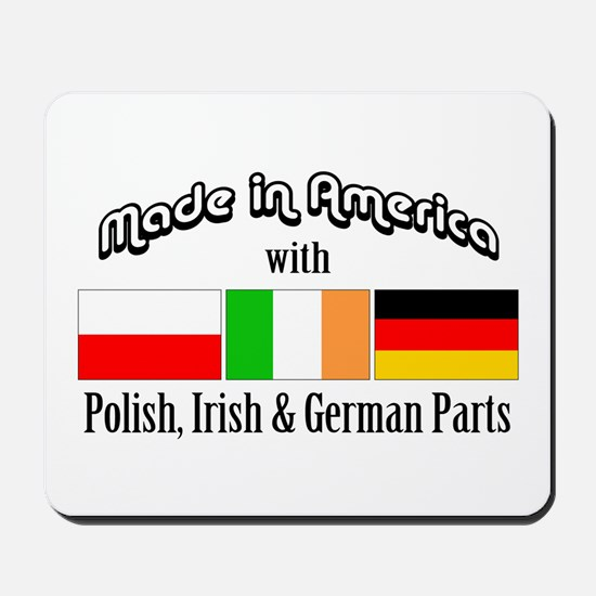 Polish-Irish-German Mousepad
