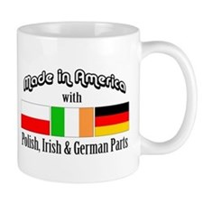 Polish-Irish-German Mug