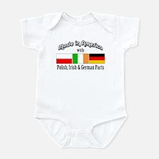 Polish-Irish-German Infant Bodysuit