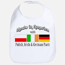 Polish-Irish-German Bib