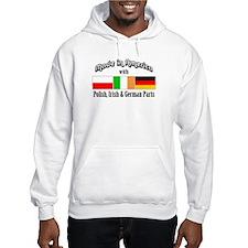 Polish-Irish-German Hoodie