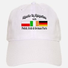 Polish-Irish-German Baseball Baseball Cap