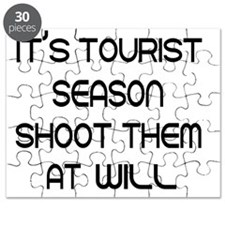 Its tourist season shoot them at will Puzzle