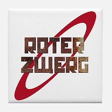 Roter Zwerg Mining Corporation Tile Coaster
