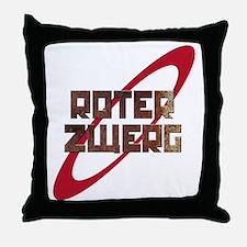 Roter Zwerg Mining Corporation Throw Pillow