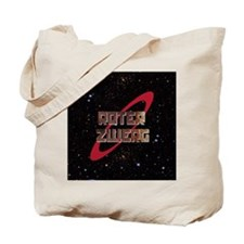Roter Zwerg with stars Tote Bag