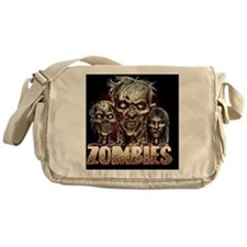 zombies_shower Messenger Bag