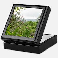Jamaican Jungle Keepsake Box