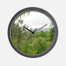 Jamaican Jungle Wall Clock