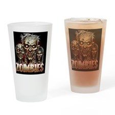 zombies_shower Drinking Glass
