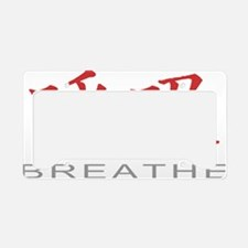 breatheColored License Plate Holder