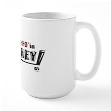 I put the Ho in Hockey - Red/Black Mug