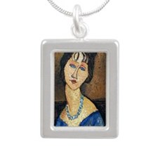kindle_sleeve2 Silver Portrait Necklace