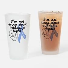 survivor fight prostate cancer Drinking Glass