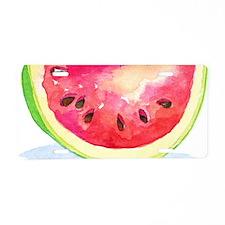 Slice of Watermelon Aluminum License Plate