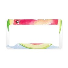 Slice of Watermelon License Plate Holder