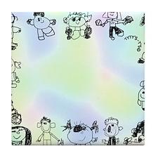 Tytys Planet Frame Tile Coaster