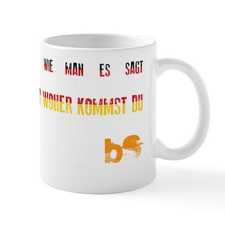MS is BS in German Mug