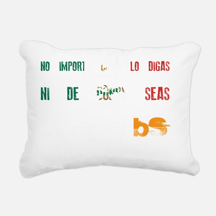 MS is BS (Mexico) Rectangular Canvas Pillow