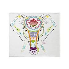Jewel Elephant Throw Blanket