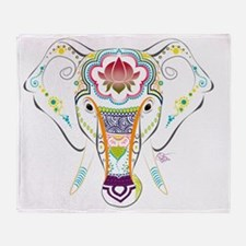 Jewel Elephant Throw Blanket