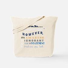 funny-how-sick-crohns-blk Tote Bag
