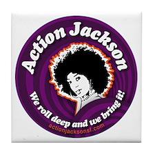 AJ-round-Sticker Tile Coaster