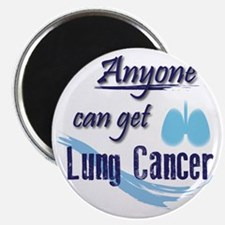 ANYONE can get Lung Cancer! Magnet