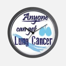 ANYONE can get Lung Cancer! Wall Clock
