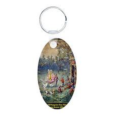 0__0015_Old Hungarian Fairy Aluminum Oval Keychain