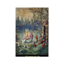 0__0015_Old Hungarian Fairy Tales Rectangle Magnet