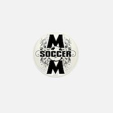 Soccer Mom (cross) Mini Button