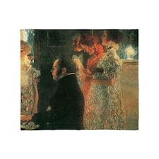 schubert-at-the-piano-ii Schubert Throw Blanket