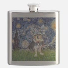 Starry-AustralianTerrier2 Flask