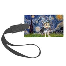 Starry-AustralianTerrier2 Luggage Tag