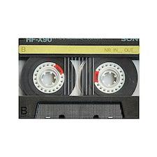 Cassette pillow case Rectangle Magnet